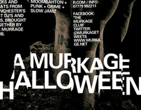 Murkage Halloween Flyer Re-design