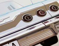 '63 Chevrolet Impala Illustration