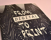 From Digital to Print
