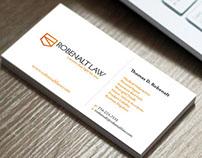 Robenalt Logo/BusinessCards