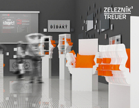 3D presentation for design studio Zeleznik²/Treuer