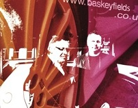 Baskeyfield Motors- Wall Art and folder design