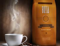 Bossa Brazilian Coffee . Branding + Packaging
