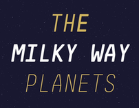 The Milky Way planets.