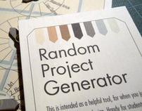 Random Project Generator