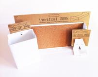 Confined Organisation: Vertical Desk