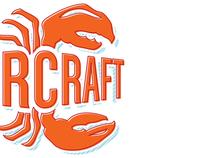 LobsterCraft, concept logo