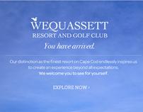 Wequassett - webSite project