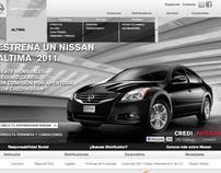 Nissan México Site + Landing Pages