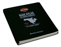 Harley Davidson Ride Atlas of North America
