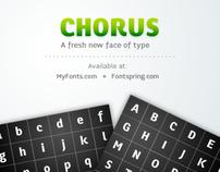 Chorus Typeface