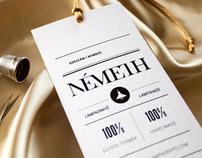 Nemeth identity and webdesign / 2012