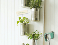 Indoor Herb Gardens - Sweet Paul Magazine #9 Summer 201