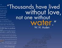 Intermediate Graphic Design: World Water Day 2012