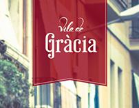 Vila de Gràcia – Lettering