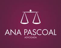 Identidade & Web Design Ana Pascoal Advogados