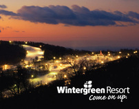 Wintergreen Resort Print Campaign