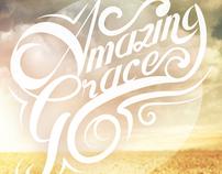 Amazing Grace lettering
