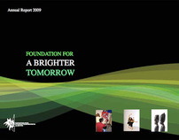 ANNUAL REPORT 2009- FOUNDATION FOR A BRIGHTER TOMORROW