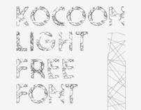 Kocoon-Light Randomic Free Font