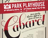 Cabaret Logo and Poster