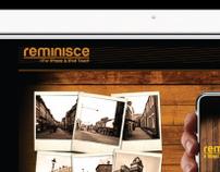 Reminisce - App & Web Design