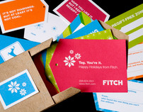 Fitch holiday gift tags