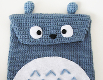 Totoro iPad / Tablet Cover Case
