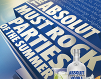 ABSOLUT 2012 MUST ROCK PARTIES OF THE SUMMER