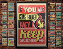 Vintage Motivational Posters Bundle