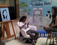 SAMSUNG GALAXY NOTE - Caricaturas