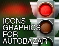 Some graphics for avtobazar.ua (2010)