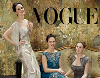 Downton Abbey for American Vogue