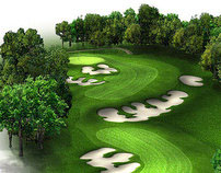 Golf Course Hole Graphics