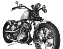 Custom Harley Davidson ( Batisttini )