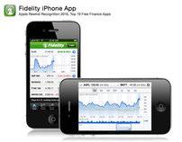 Fidelity Investment's iPhone App