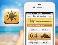 Olay UV Monitor : iPhone App