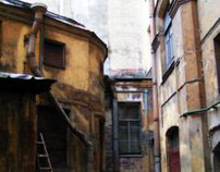 SPb. City of winds, run-down yards and beauty