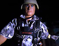 Stop Motion Action Man