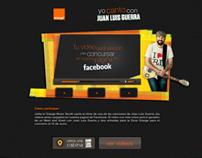 Yo canto con JLG - Orange Facebook APP