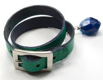 GREEN ISLAND bracelet; fresh tropical adventure