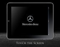 Mercedes customisation touchscreen - Pitch