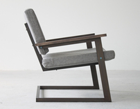 The TOKEN Lounge Chair