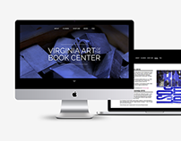 Virginia Art of the Book Center Website