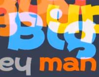 Primate Typeface Movie