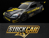 Infographic Stock Car Goodyear Brazil