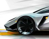 Lamborghini Leon - Sketch Concept
