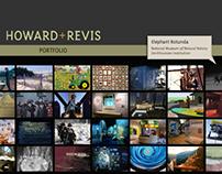 HOWARD+REVIS - web design