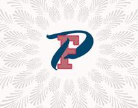 Patrick Finnegan packaging / product logo