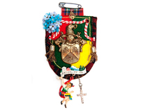 EUROPE brooches; colourful culture clash